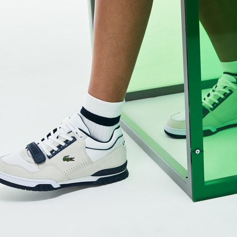 Sneakers Fashion Show Missouri Lacoste en cuir pour Homme