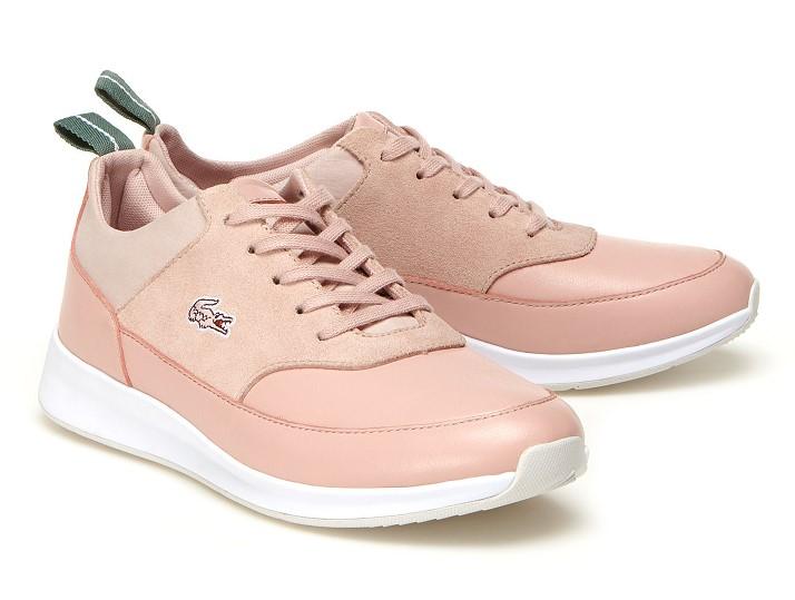 Sneakers Femme Joggeur Lace Lacoste en cuir