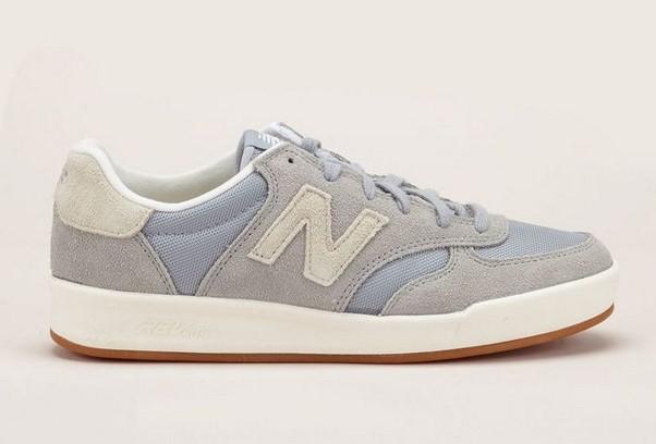 New Balance Sneakers grises Crt300sr pas cher - Baskets Femme Monshowroom