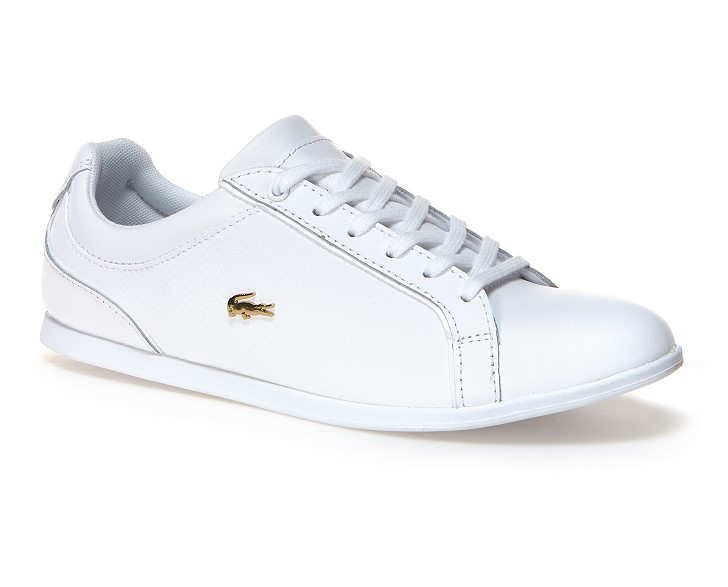 Sneakers Rey Lace Lacoste en cuir pour Femme