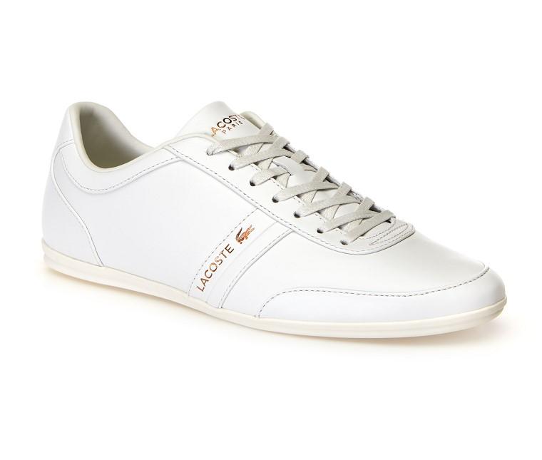 Sneakers Storda homme Lacoste en cuir nappa