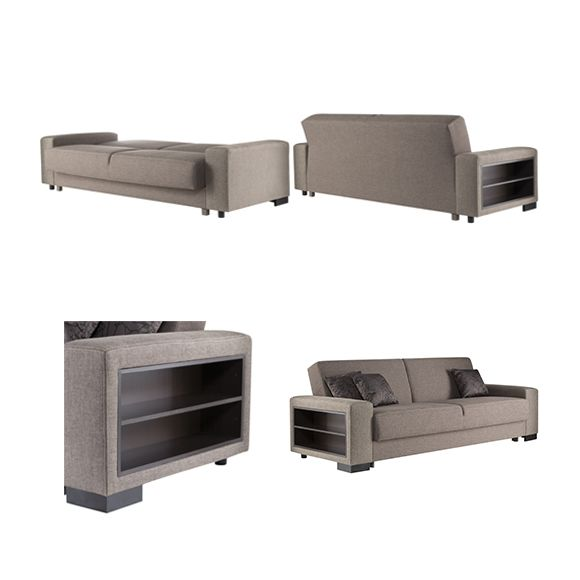 sofa story canap convertible escalade tissu brun pas cher soldes canap rue du commerce. Black Bedroom Furniture Sets. Home Design Ideas