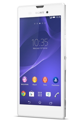Soldes smartphone Darty, Soldes smartphone SONY XPERIA T3 BLANC