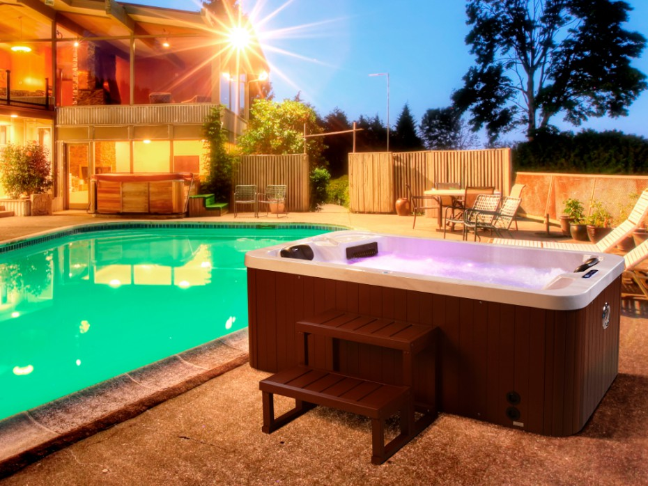 spa 2 personnes tahiti spa pas cher vente unique. Black Bedroom Furniture Sets. Home Design Ideas