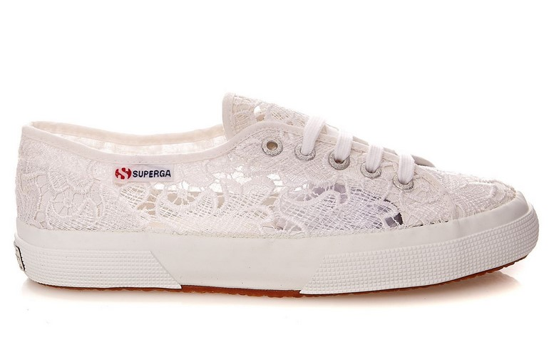 Superga Cotu Macramew Baskets blanc