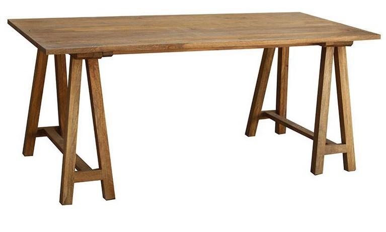 table manger bois de manguier antiqua table manger. Black Bedroom Furniture Sets. Home Design Ideas