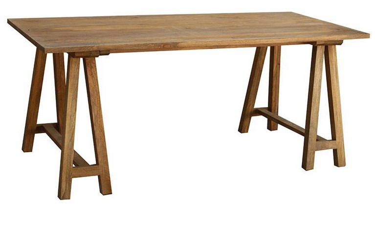 table manger bois de manguier antiqua table manger miliboo ventes pas. Black Bedroom Furniture Sets. Home Design Ideas