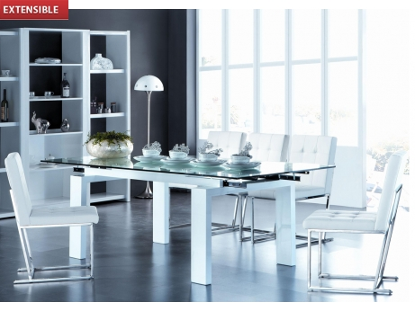 Vente flash table manger extensible diva sur vente unique ventes pas cher - Reduction vente unique ...
