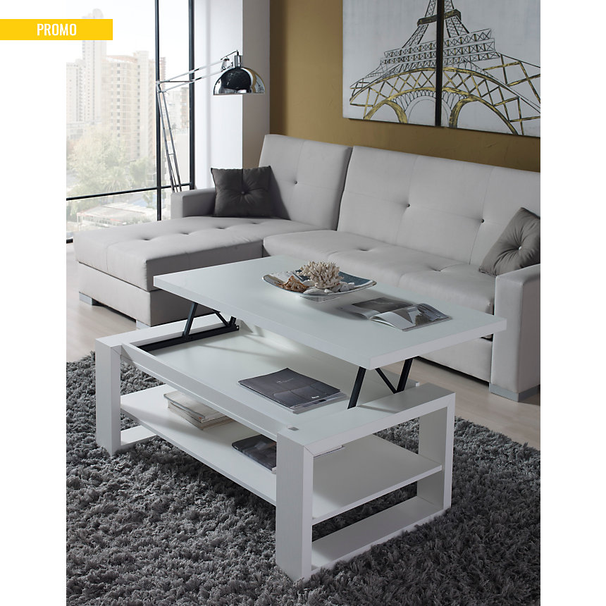 Table basse relevable Gloria pas cher - Table Basse Camif - Ventes ...