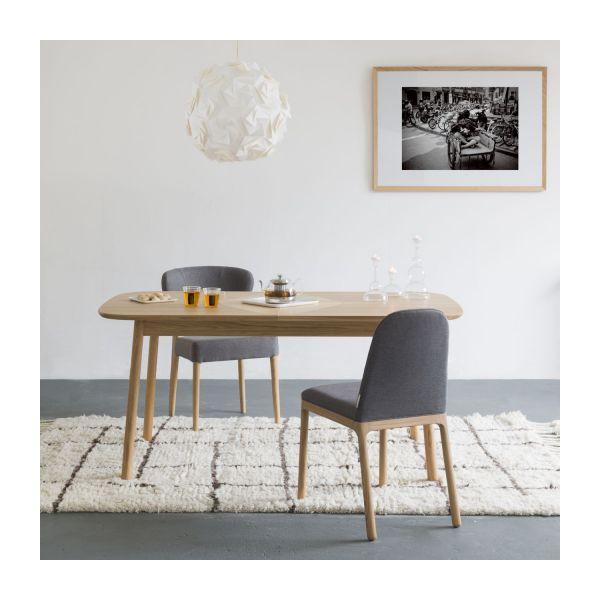 Losange Table De Salle à Manger Extensible En Chêne