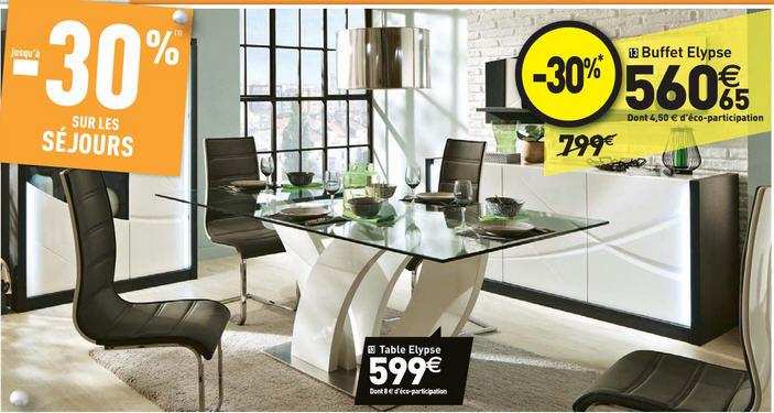 conforama table de salle manger. affordable meuble salle manger ... - Conforama Sejour Salle A Manger
