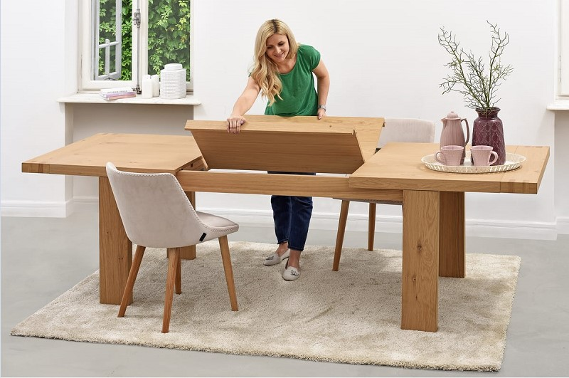 Table de sejour design pas cher salle manger table en for Table sejour design