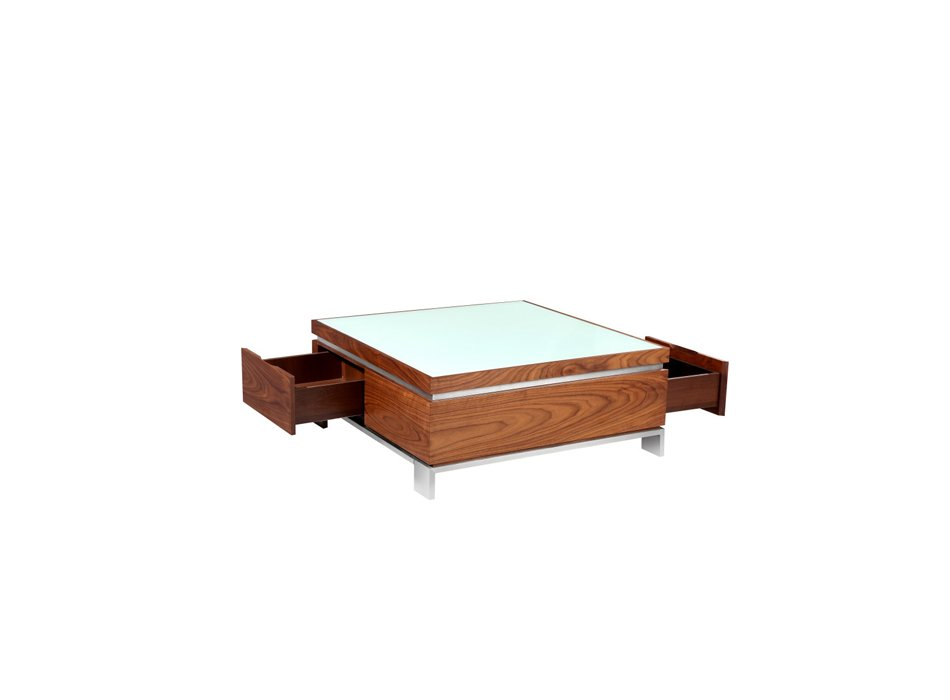 soldes vente unique table basse carr e aqualinea prix. Black Bedroom Furniture Sets. Home Design Ideas