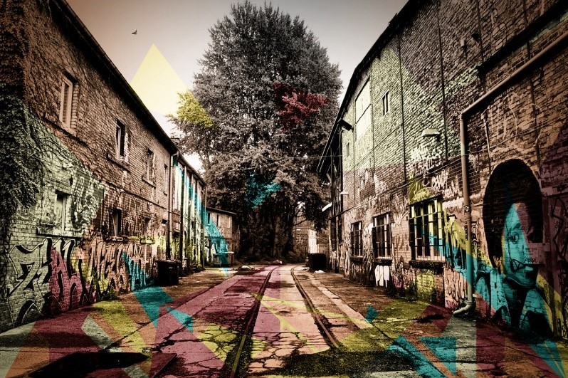 Tableau plexi Graffiti ATYLIA - Tableau Atylia