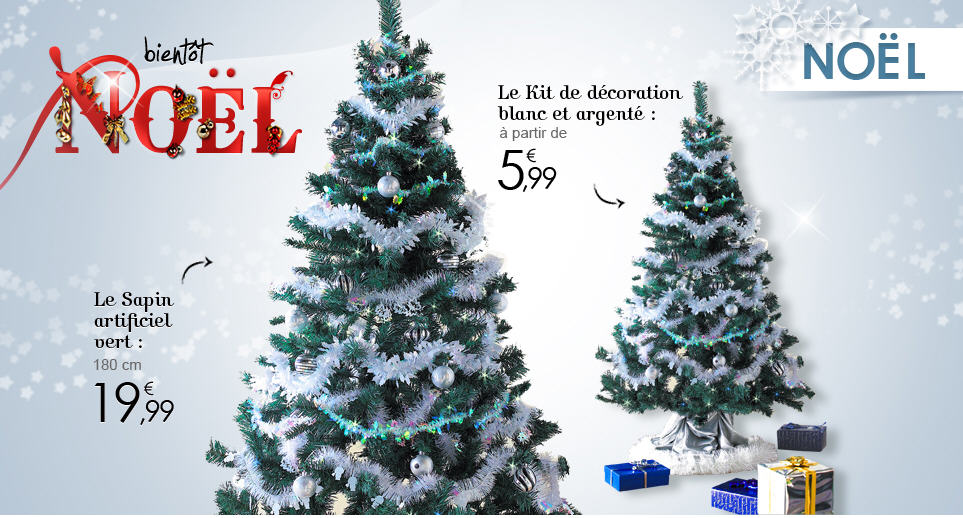 Tati boutique de noel ventes pas - Tati decoration noel ...