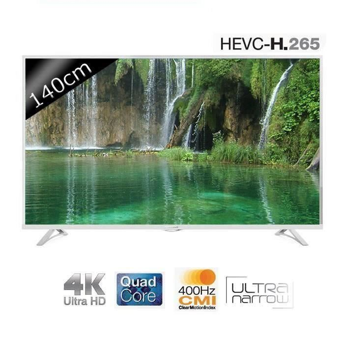 thomson 55ua6406w smart tv ultra hd 4k 140cm t l viseur 4k cdiscount soldes cdiscount top. Black Bedroom Furniture Sets. Home Design Ideas