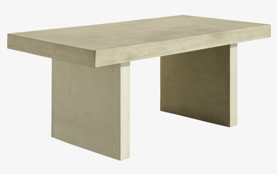 Tico Ii Table En Beton Habitat Table De Salle A Manger Habitat