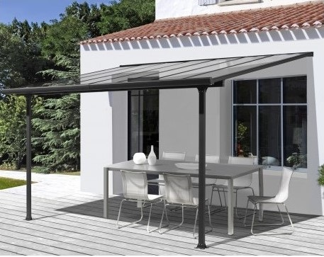 toit de terrasse 3x3m habrita pas cher pergola conforama ventes pas. Black Bedroom Furniture Sets. Home Design Ideas