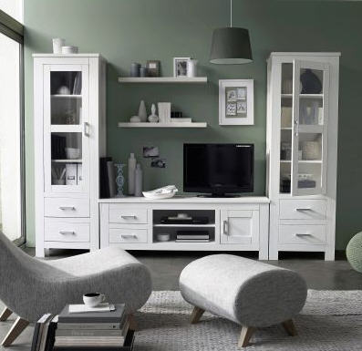 meubles tv 3 suisses meuble tv okyl lasur blanc en pin massif ventes pas. Black Bedroom Furniture Sets. Home Design Ideas