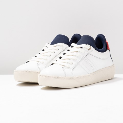Tommy Hilfiger HYBRID ICONIC SNEAKER Baskets basses blanc