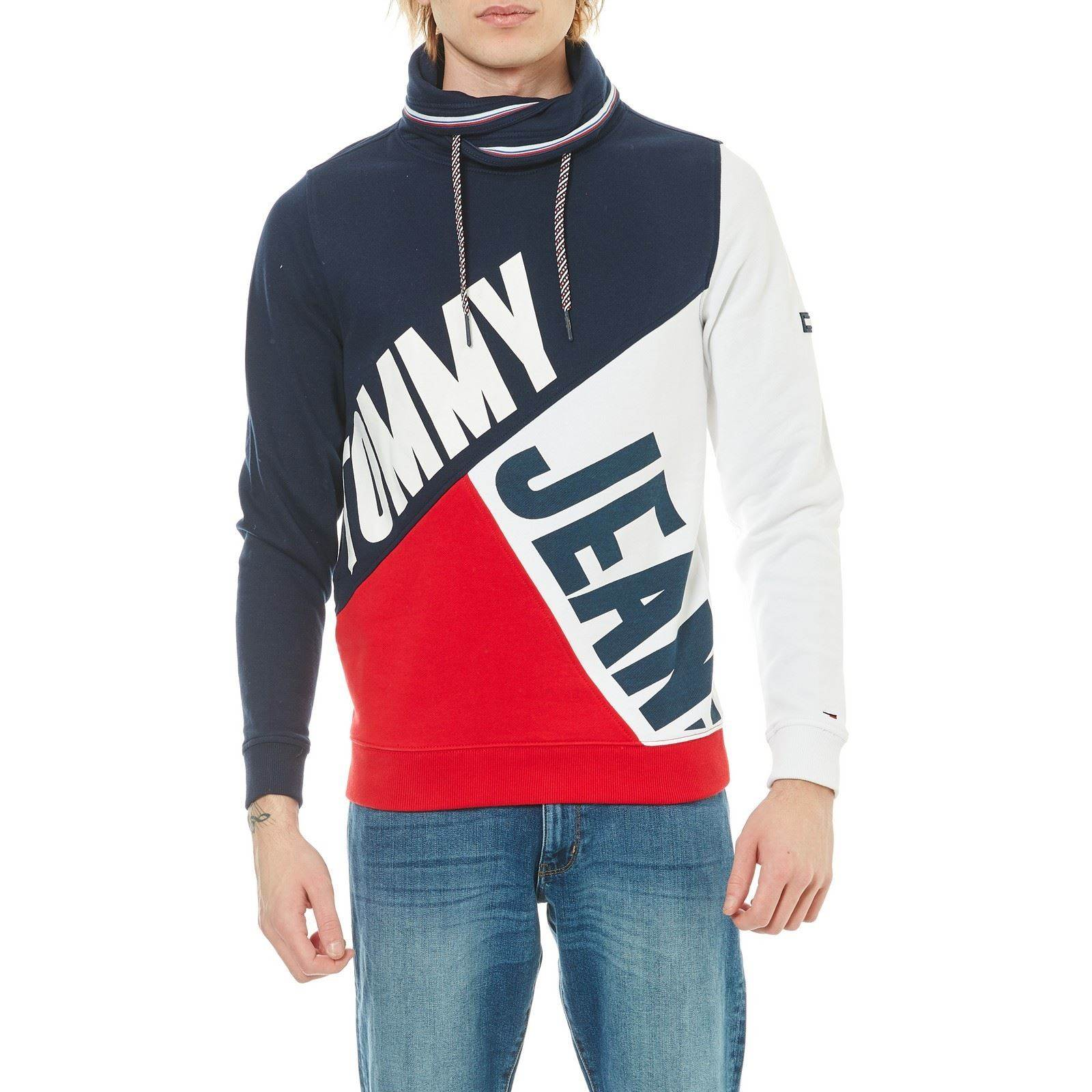 Tommy Jeans Sweat-shirt rouge