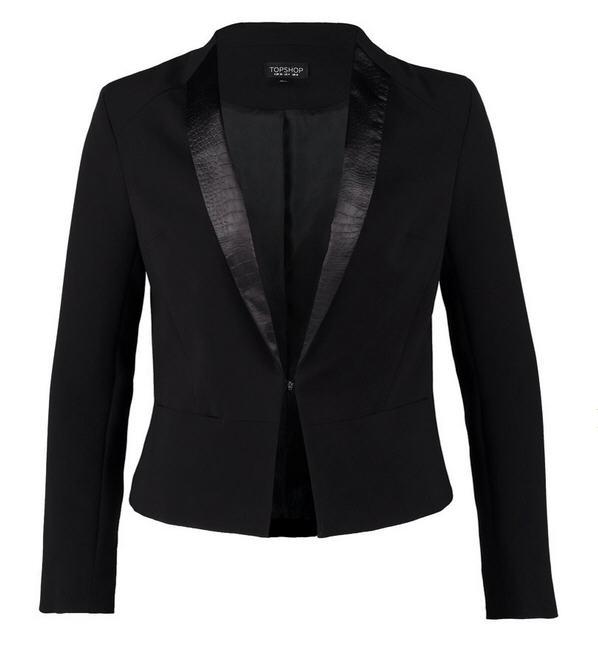 Blazers Zalando: Topshop TUX Blazer Black