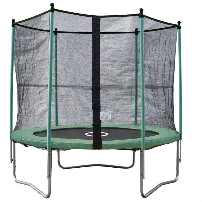 trampoline cdiscount trampoline twin 250 avec filet. Black Bedroom Furniture Sets. Home Design Ideas