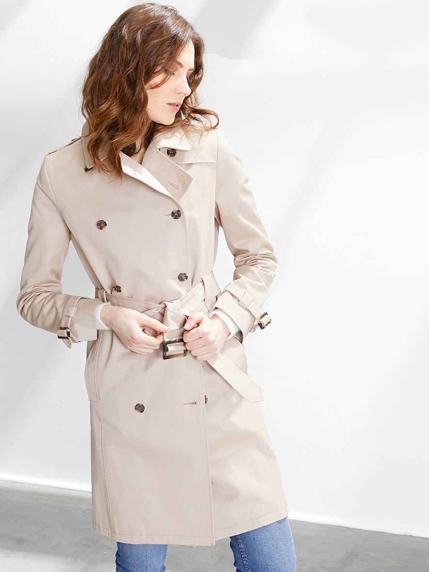 Trench Femme Sable Cyrillus