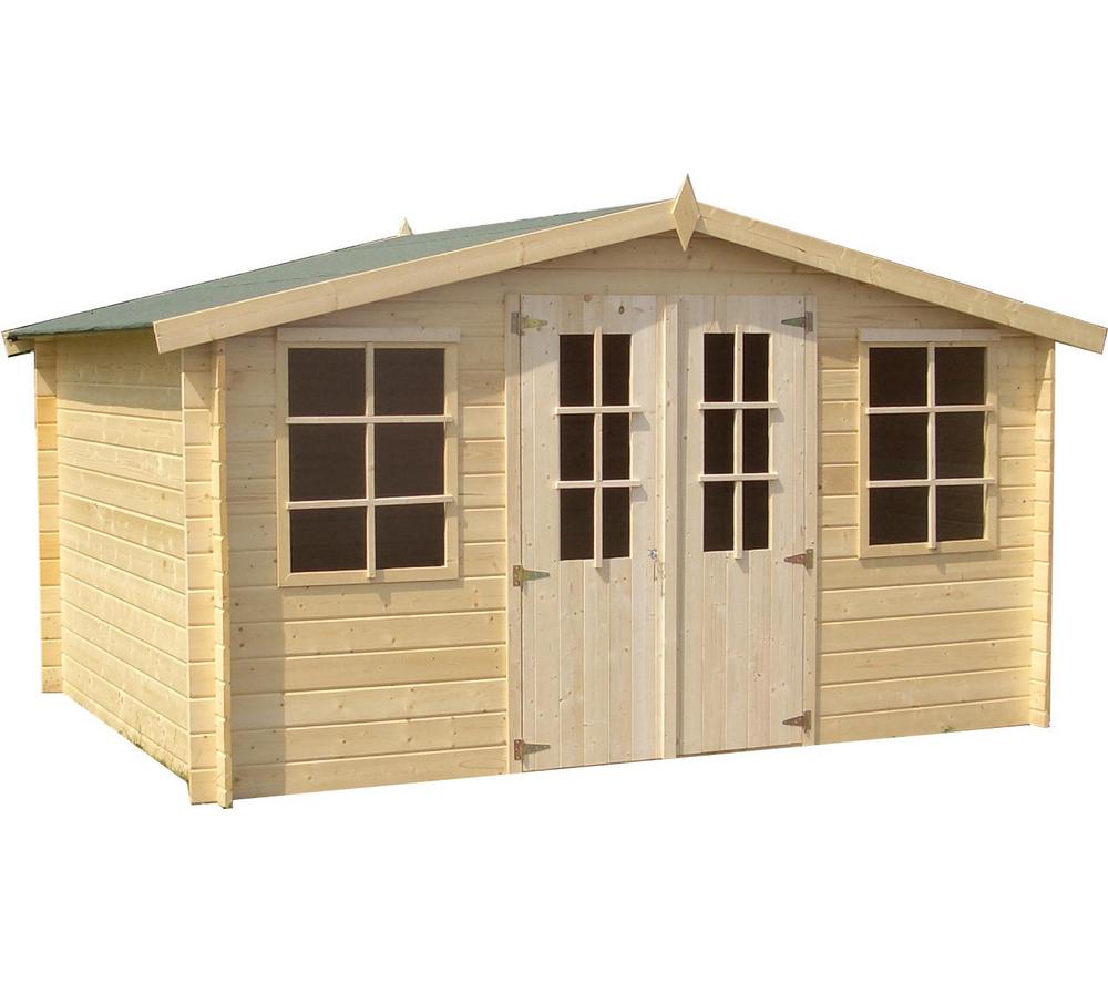 abri de jardin carrefour pas cher abri gotland ii xxl sur ventes pas. Black Bedroom Furniture Sets. Home Design Ideas