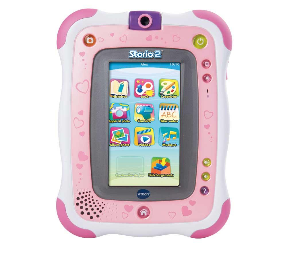 tablette pour enfants pixmania vtech tablette multim dia storio 2 rose appareil photo. Black Bedroom Furniture Sets. Home Design Ideas