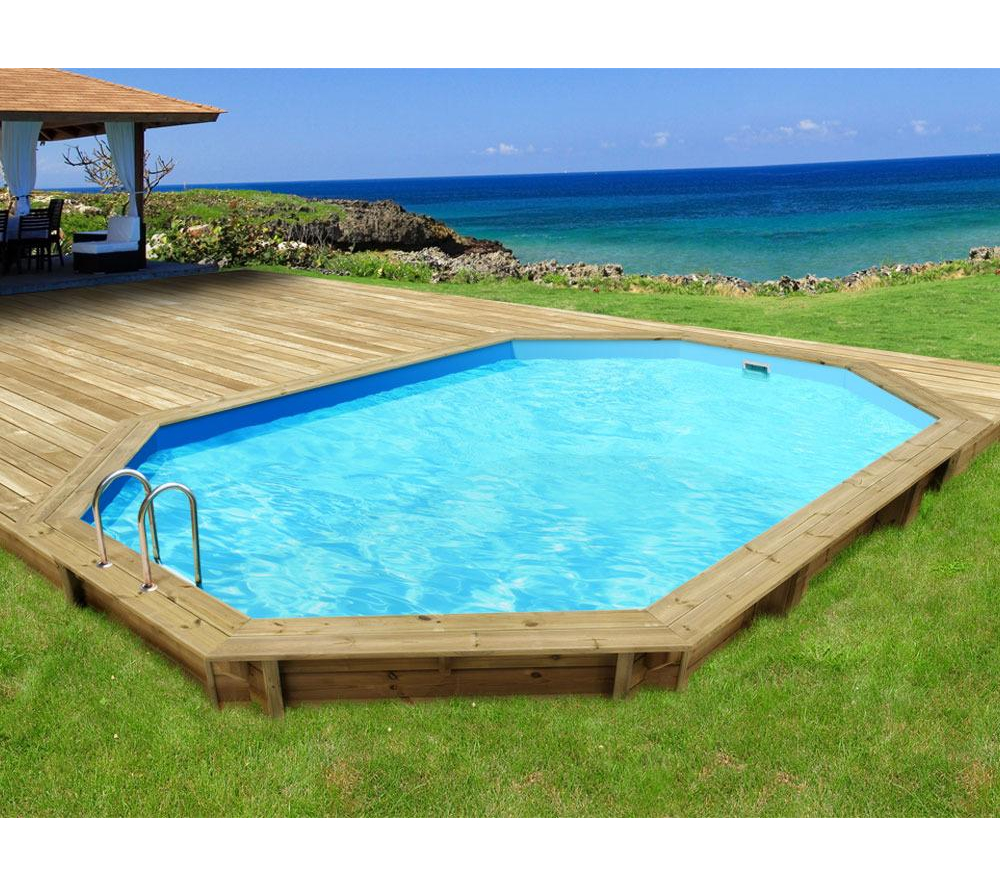 Piscine bois hors sol carrefour for Piscine gonflable auchan