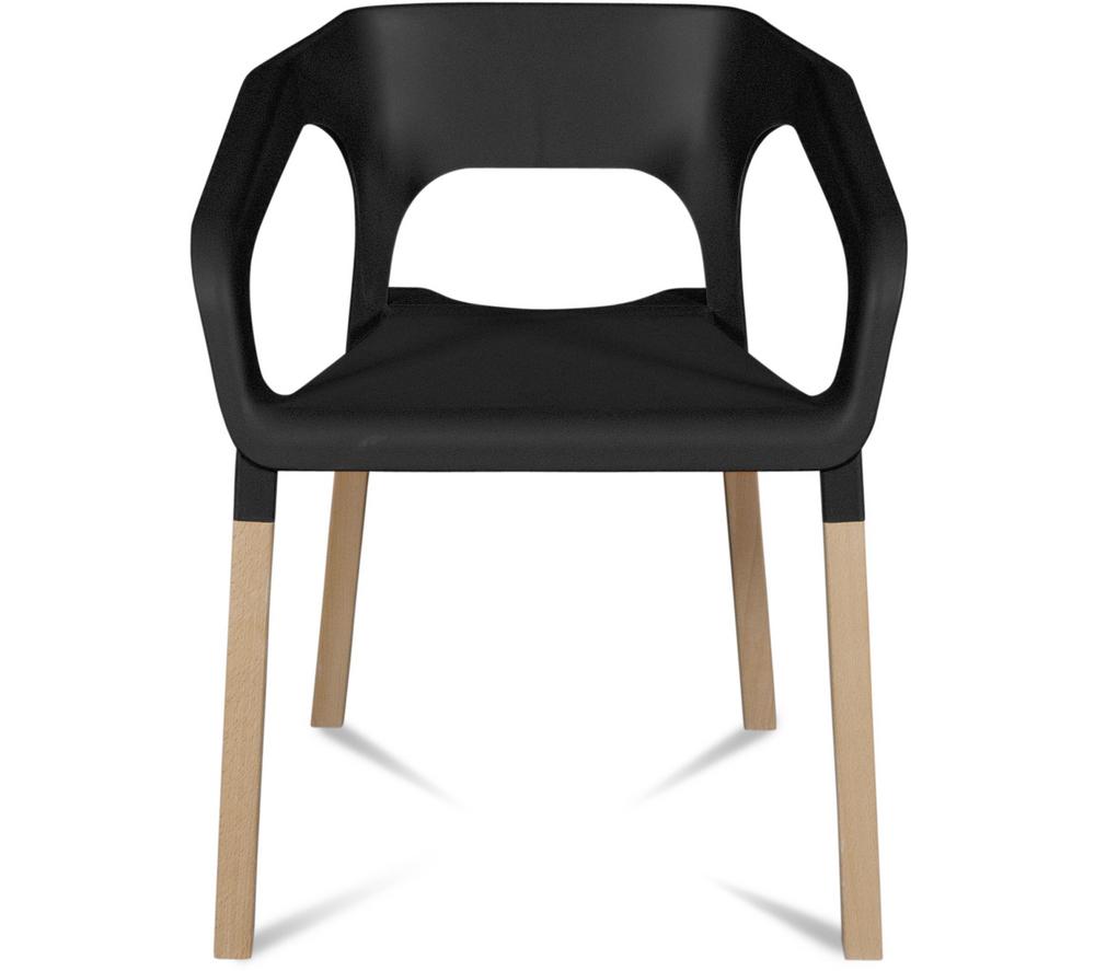 Chaise cuisine noire et chaise de cuisine noir ensemble for Table et chaises de cuisine en rotin