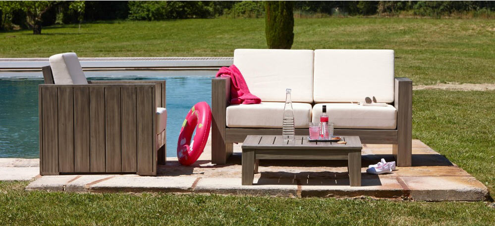 Mobilier de jardin pas cher carrefour for Salon de jardin carrefour home
