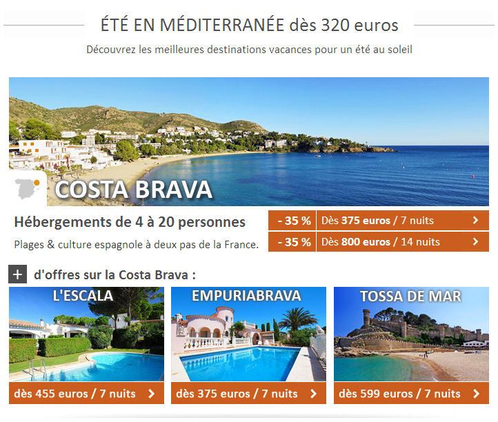 Locasun Vacances Eté pas cher en Méditerranée dès 320 euros