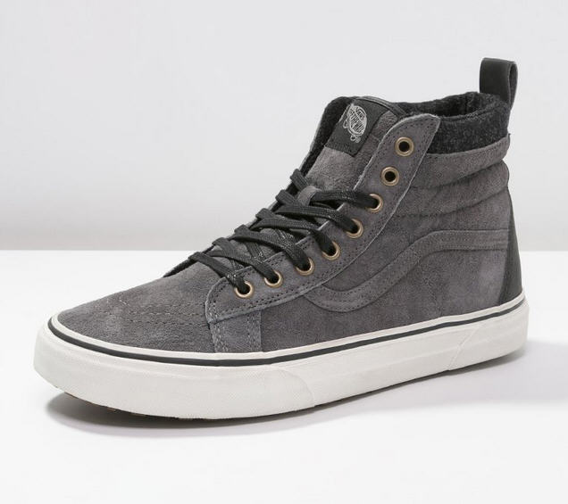 vans sk8 baskets montantes pewter baskets femme vans zalando ventes pas. Black Bedroom Furniture Sets. Home Design Ideas