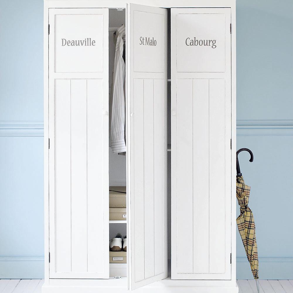 Vestiaire NEWPORT en pin blanc - Maisons de Monde