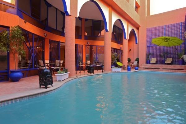 s jour maroc go voyage marrakech h tel les trois palmiers 3 ventes pas. Black Bedroom Furniture Sets. Home Design Ideas
