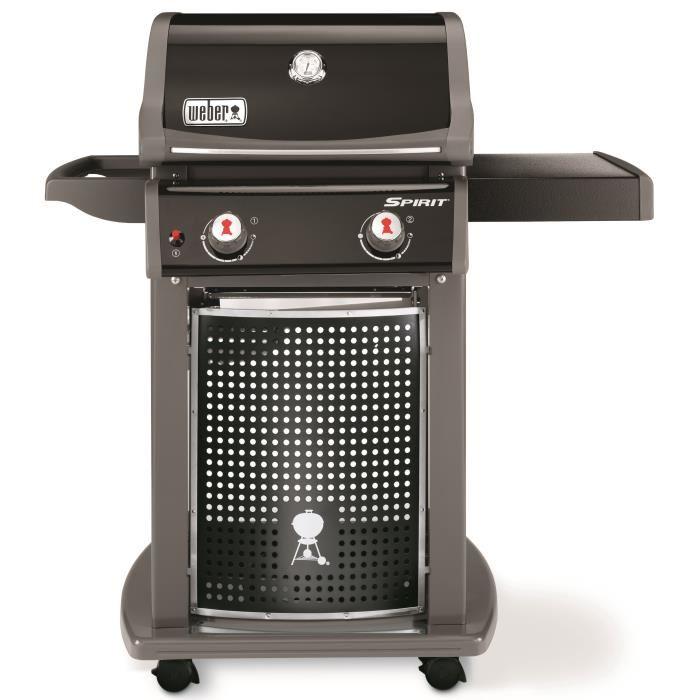 WEBER Barbecue à gaz Spirit EO-210 2 brûleurs Acier émaillé Noir