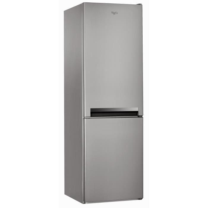 WHIRLPOOL BLF8001OX Réfrigérateur congélateur bas 339L