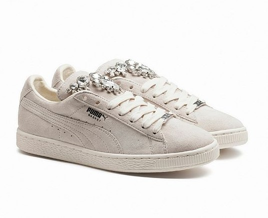 PUMA Women's Basket Jewels - Baskets Femme PUMA