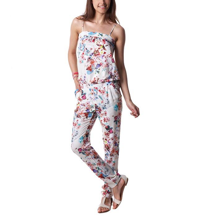 combi pantalons promod combinaison pantalon femme imprim ecru ventes pas. Black Bedroom Furniture Sets. Home Design Ideas