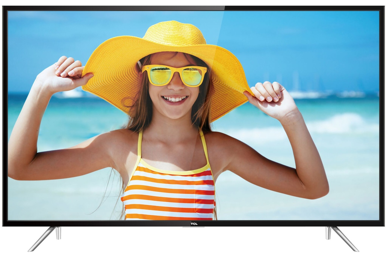 TV LED Tcl U55P6006 4K UHD